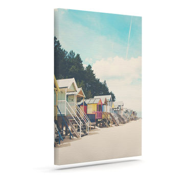 "Laura Evans ""Small Spaces"" Beach Coastal Canvas Art"
