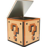 Super Mario Bros. Question Block Storage Tin