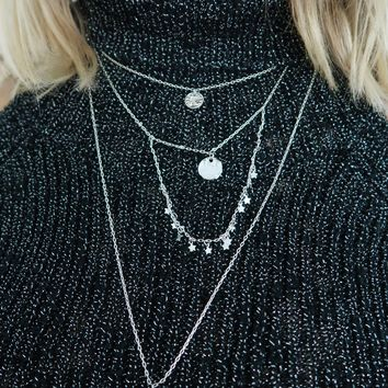 About Time Necklace: Silver