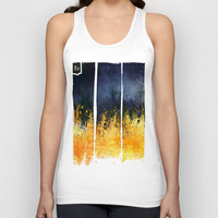 My burning desire Unisex Tank Top by HappyMelvin