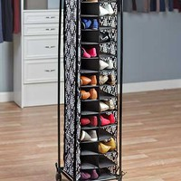 28-Pair Fashionable Shoe Storage