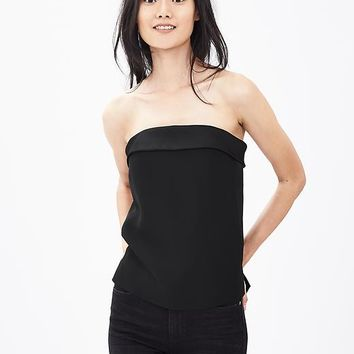 Banana Republic Womens Monogram Strapless Top