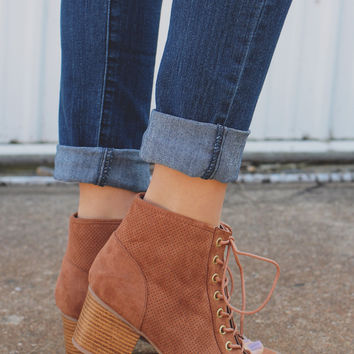 Top Notch Bootie - Whiskey