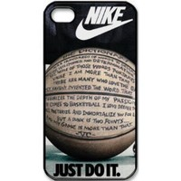 Custom International Brand Nike Logo case cover for iphone 4 4s:Amazon:Cell Phones & Accessories
