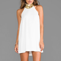 keepsake Modern Myth Mini Dress in Ivory/Gold from REVOLVEclothing.com