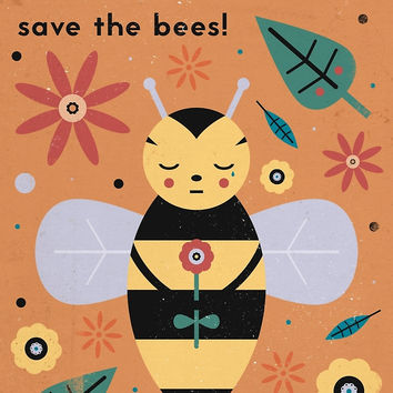 'Save The Bees!' by CarlyWatts