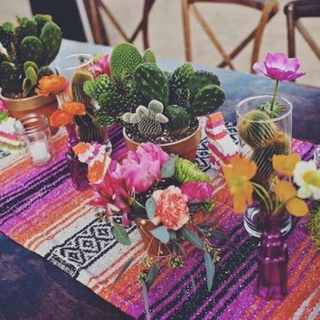 Baja Mexican Table Runner