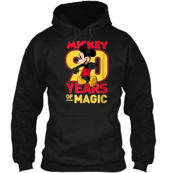 Disney Mickey Mouse 90 years of Magic  Pullover Hoodie 8 oz