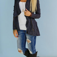 World Traveler Jacket (Charcoal) - Piace Boutique