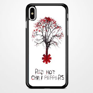 Tree Of Red Hot Chili Peppers iPhone X Case