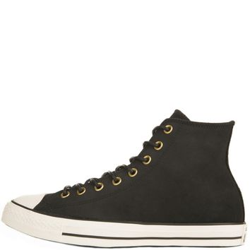Converse for Men: Chuck Taylor All Star Crafted Black Suede High Tops