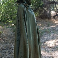 Cape Cloak Full Circle Renaissance Medieval from Mean Kitty Wear