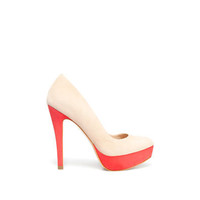 TWO TONE PLATFORM COURT SHOE - Shoes - Woman - ZARA United States