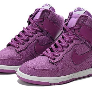Nike Dunk Sky Hi Essential Inside Heighten woman Leisure High Help Board Shoes7