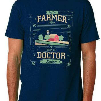 """Pay the Farmer"" Unisex T-Shirt (Organic Cotton)"