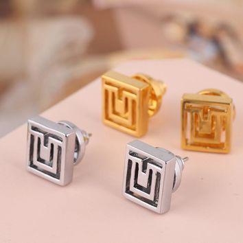Stylish Hollow Out Geometric Pattern Earring Jewelry [6573072839]