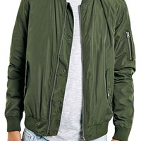 Men's Topman Bomber Jacket,