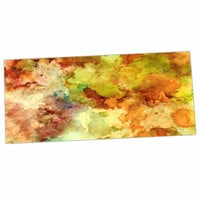 "Rosie Brown ""Fall Bouqet"" Yellow Orange Desk Mat"