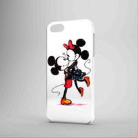 Mickey And Minnie Mouse Kissing Disney iPhone 5 Case