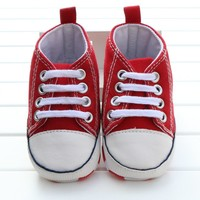 converse all star inspired baby sneakers