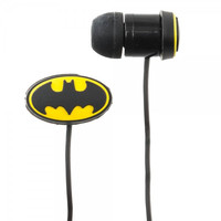 Batman Logo Rubber Earbuds