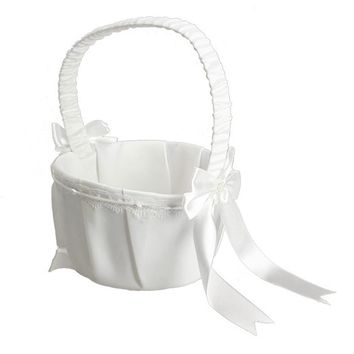 Wedding Flower Girl Basket For Wedding Decoration Ceremony