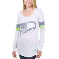 Seattle Seahawks Nike Women's Take it Long Long Sleeve T-Shirt - White