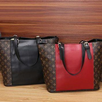 DCCKU62 LV Louis Vuitton Women Shopping Bag Leather Tote Satchel Shoulder Bag Handbag Crossbody