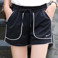 Nike Fashion Women Summer Casual Sport Shorts Black I-BL-YD