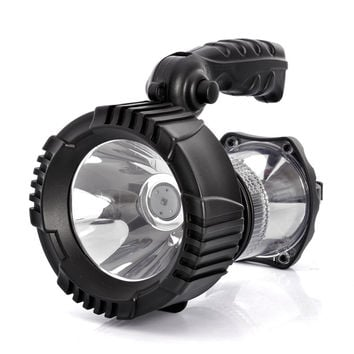 "Weatherproof Outdoor 3W LED Flashlight ""Zuke AK2133A"" - 2400mAh Li-ion Battery, 160 Lumens"