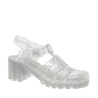 Juju Babe Glitter Heeled Jelly Sandals