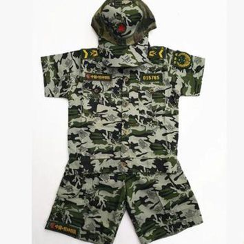 DCCKH6B chinese military uniform costume for children military clothing special force military uniform suit military battle suit