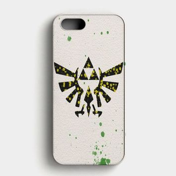 Legend Of Zelda Triforce Emblem iPhone SE Case