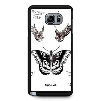 Tattoo Harry Style One Direction Samsung Galaxy Note 5 Case