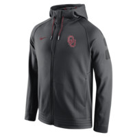 Nike Elite Stripe Full-Zip (Oklahoma) Men's Basketball Hoodie