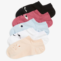 5-pack sneaker socks - Mix it up! - Socks & Tights - Monki GB