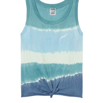 Knotted Muscle Tank - PINK - Victoria's Secret