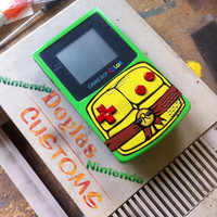 TMNT Raphael themed gameboy color