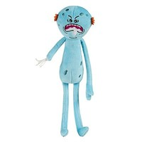 "SDCC 2015 Exclusive Rick and Morty 10"" Foamy Mr. Meeseeks Plush by Adult Swim"