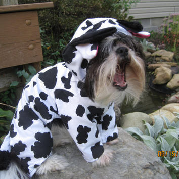 Cow Halloween Pet/Dog Costume size Medium