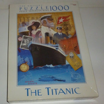 The Gallery The Titanic 1000 Piece Jigsaw Puzzle