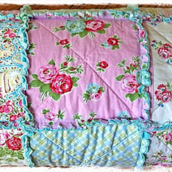 Rag Quilt Shabby Delilah and Sugar Hill by Tanya by Delilahkaye
