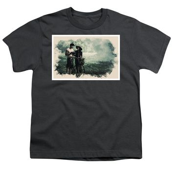 Watercolor Conseptual Landscape - Deep In The Forest - Youth T-Shirt