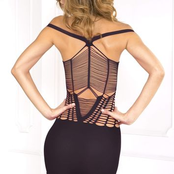 Rene Rofe Perfect Coverage Dress - Black - One Size