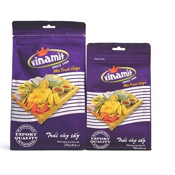 Vinamit Vietnam Fruit Chips Jack Fruit / Mixed Fruit / Chips - High Quality Food