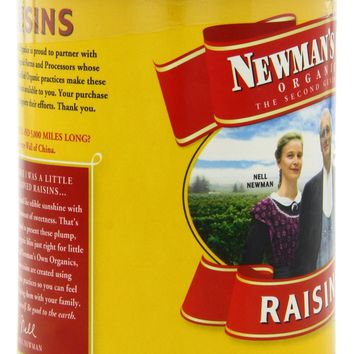 NEWMAN'S OWN: Organic California Raisins, 15 oz