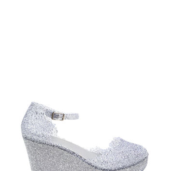 Instantly Jelly Flatform Wedges
