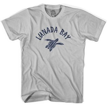 Lunada Bay Beach Sea Turtle Adult Cotton T-shirt
