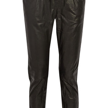 R13 - Leather track pants
