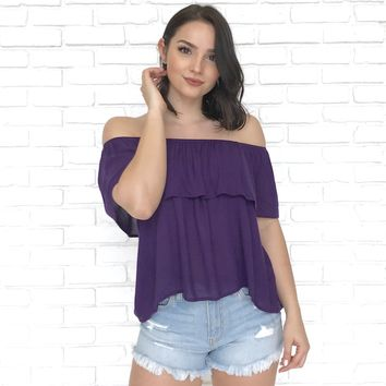 Daydreamer Off The Shoulder Top